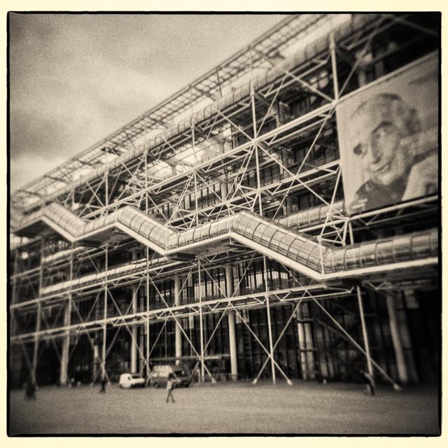 """Parisian Dreaming - Medium Format Film"" stock image"