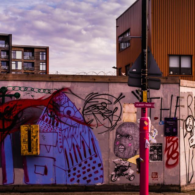 """Graffiti Abstract Street"" stock image"