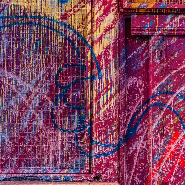 """Graffiti Abstract"" stock image"