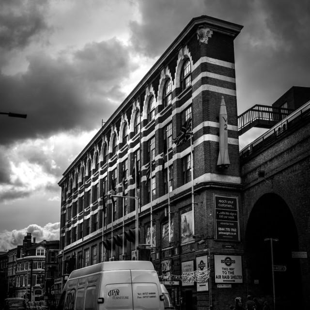 """London's Flat Iron"" stock image"
