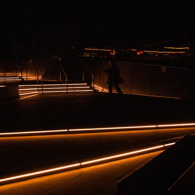"""Night Club Strip Lights"" stock image"