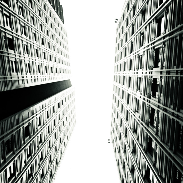 """""""Grids, Lines and glass structure"""" stock image"""