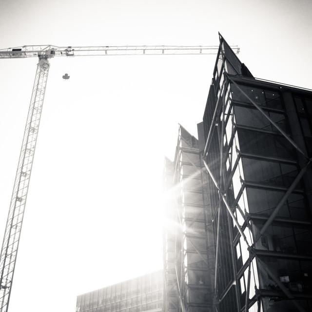 """City Construction"" stock image"