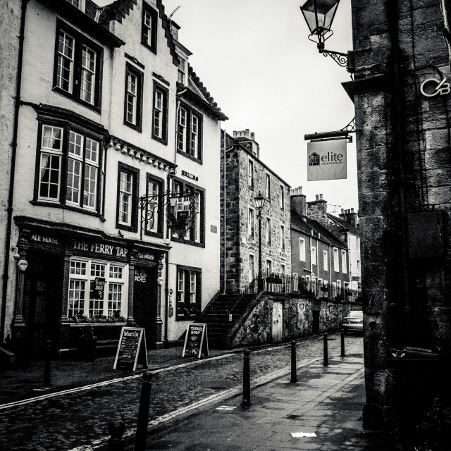 """Edinburgh Streets"" stock image"