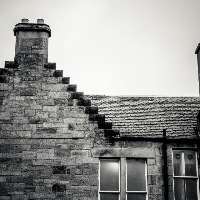 """""""Rooftop and Chimney"""" stock image"""