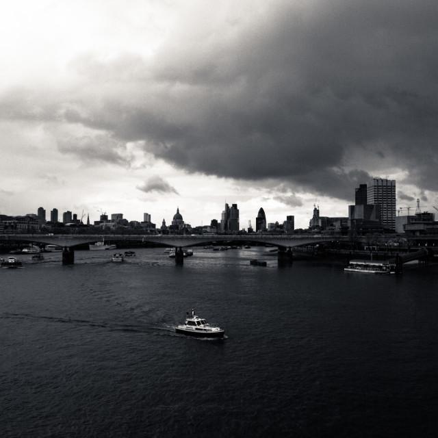"""""""London Views"""" stock image"""