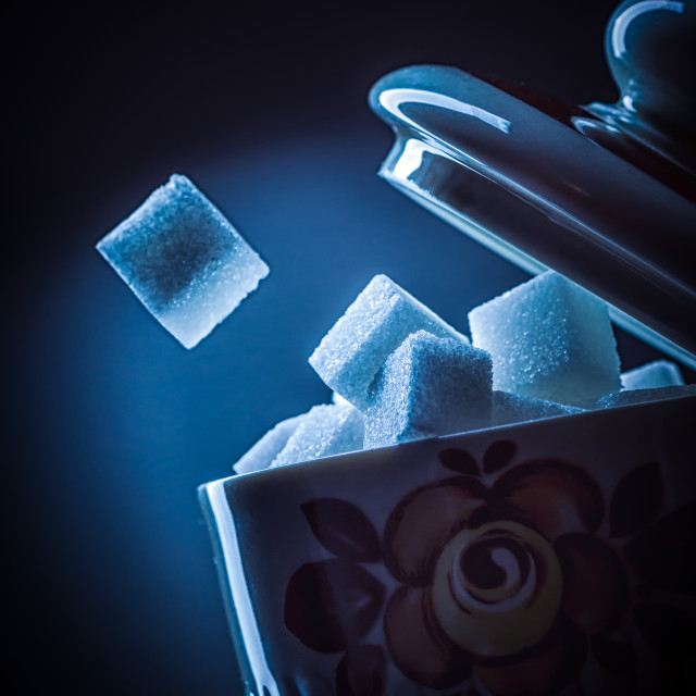 """Sugar Cup"" stock image"