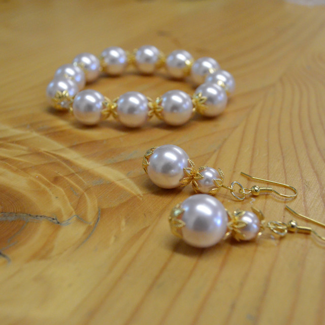 """""""Home-made Jewelry 0612"""" stock image"""