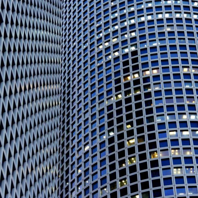 """Azrieli Buildings"" stock image"
