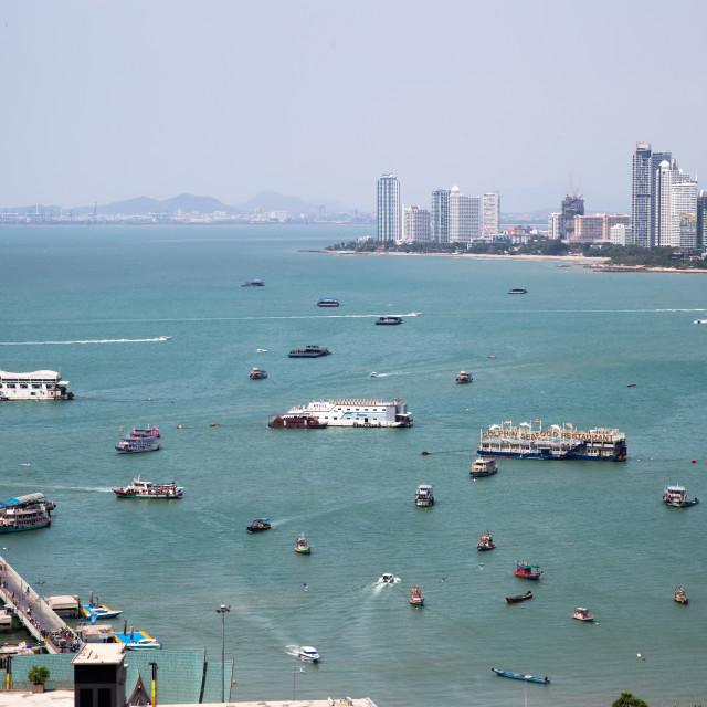 """""""Pattaya beach, Thailand"""" stock image"""