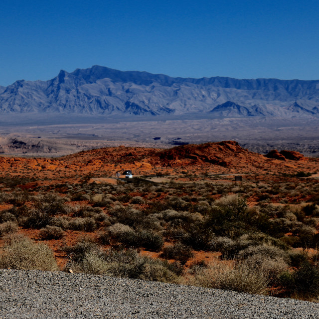 """Valley of Fire"" stock image"