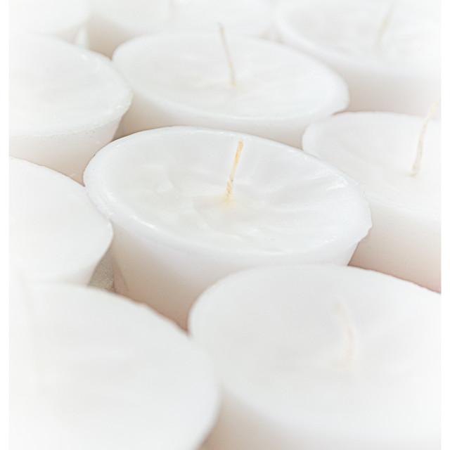 """Tea Light Candles"" stock image"