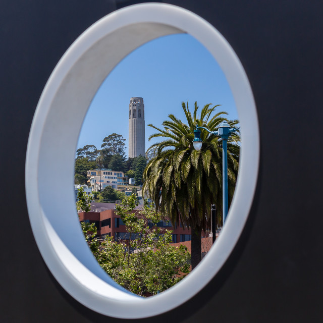 """""""Coit Tower"""" stock image"""