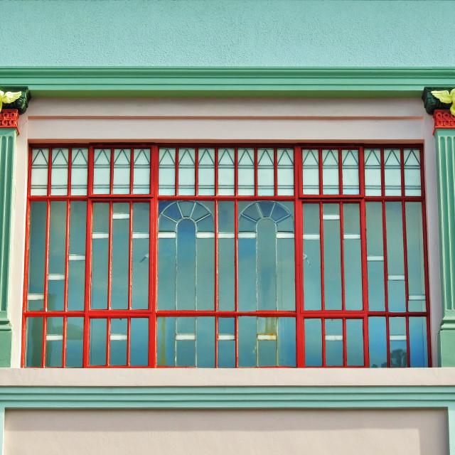 """Art Deco Napier"" stock image"
