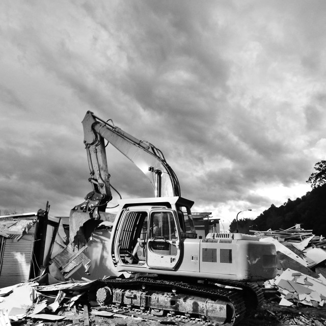 """Demolition"" stock image"