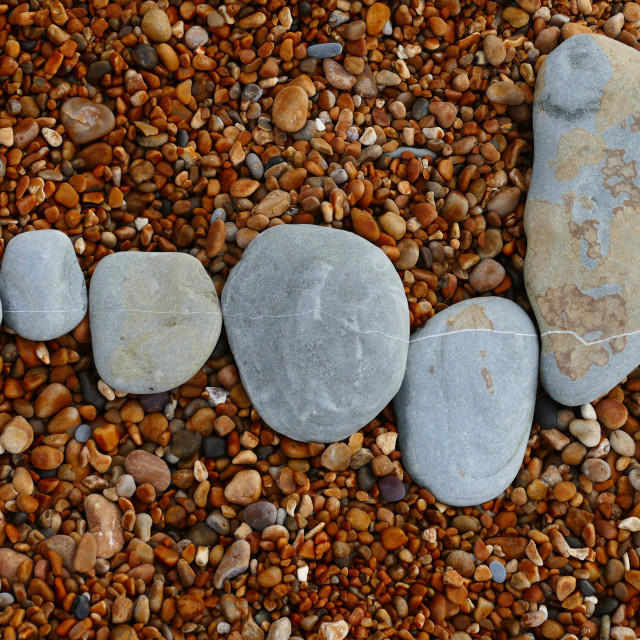 """Alignment of stones"" stock image"