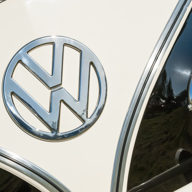 """""""Volkswagen Campervan"""" stock image"""