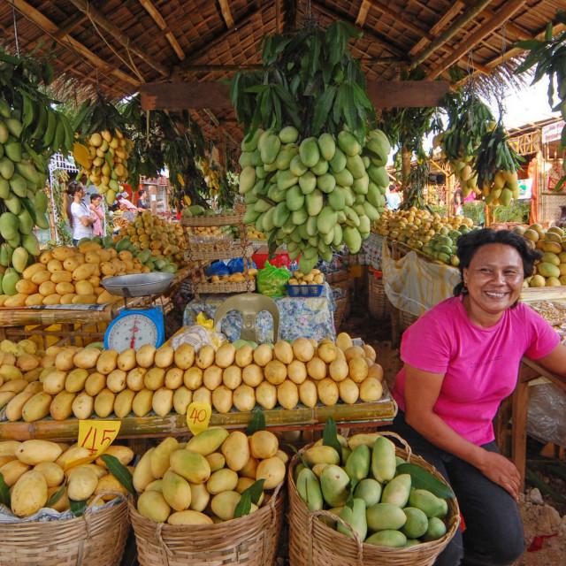 """Philippines mangoes"" stock image"