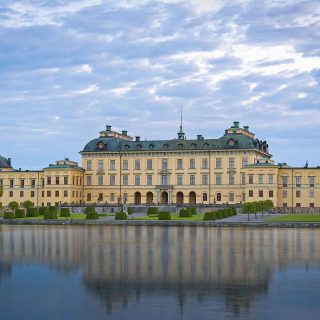 """Drottningholm Palace, Stockholm."" stock image"