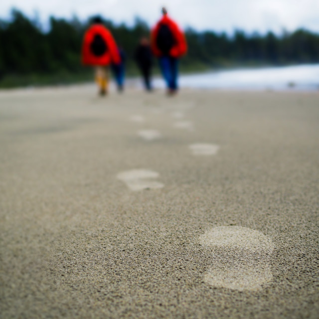 """""""Footsteps"""" stock image"""