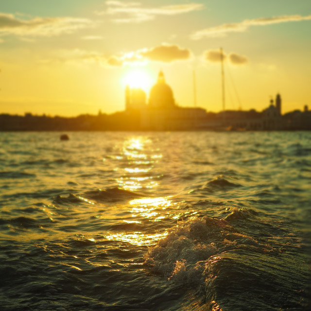 """Venice Waters"" stock image"
