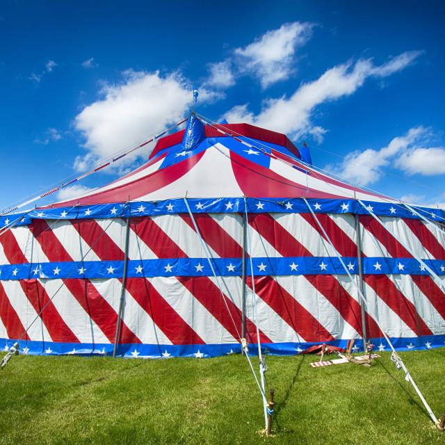 """Circus Tent"" stock image"