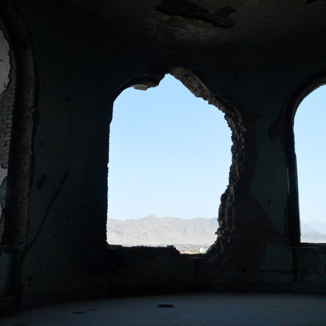 """""""The King's View of Kabul"""" stock image"""