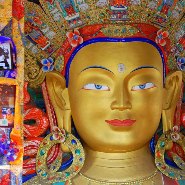 """Future Buddha"" stock image"