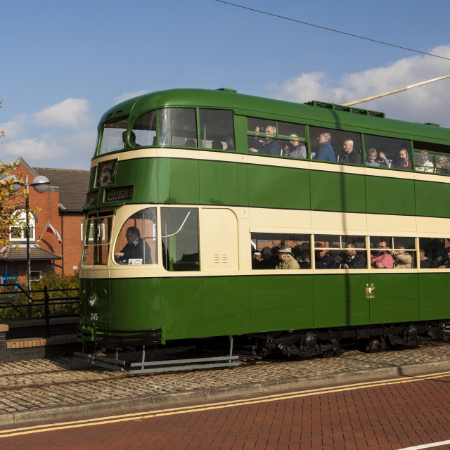 """Liverpool Baby Grand Tram 245"" stock image"