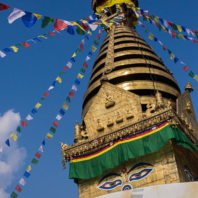 """Swayambhunath"" stock image"