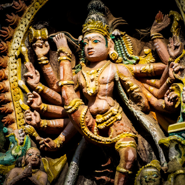 """Hindu statue"" stock image"
