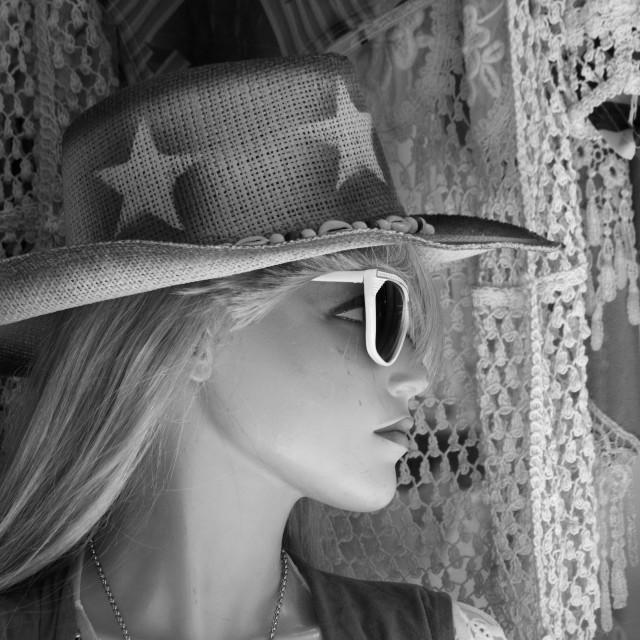 """Star Hat Mannequin"" stock image"
