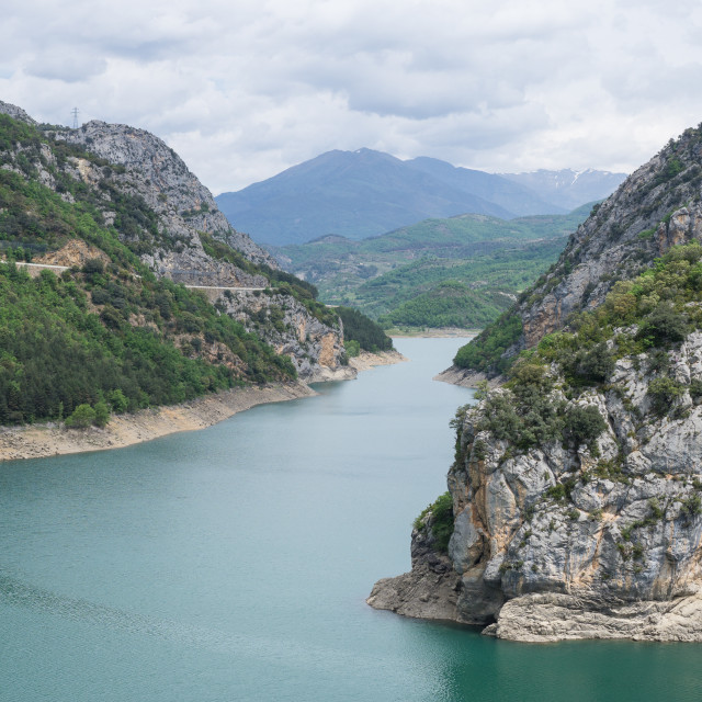 """Escales Resevoir"" stock image"