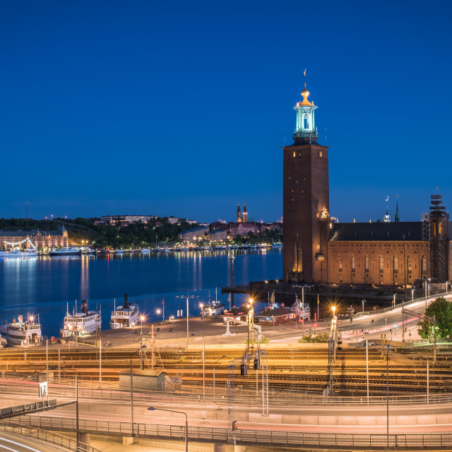 """Stockholm City Hall"" stock image"