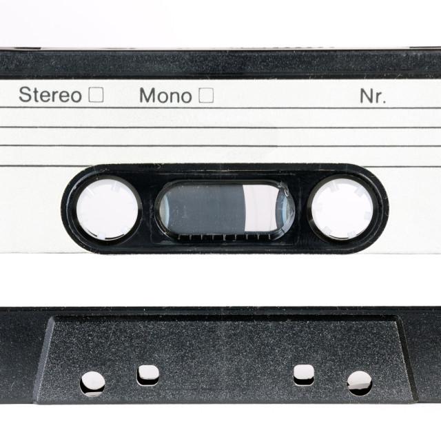 """vintage audio cassette"" stock image"