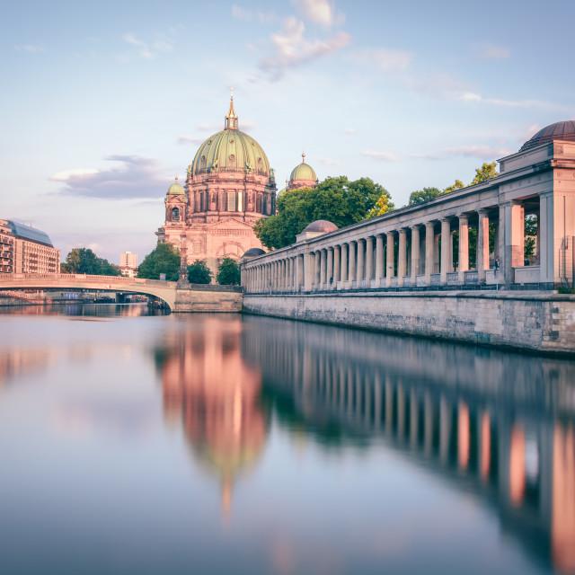 """Berliner Dom I Berlin, Germany 2016"" stock image"