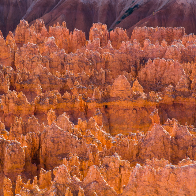 """""""Sunlit Crags"""" stock image"""