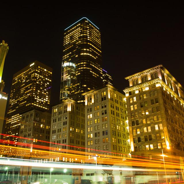 """LA Night"" stock image"