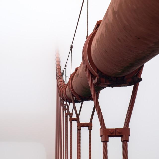 """Golden Gate Bridge Cable"" stock image"