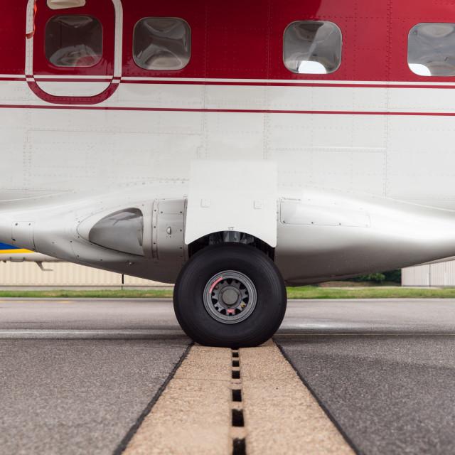 """Balanced Plane"" stock image"