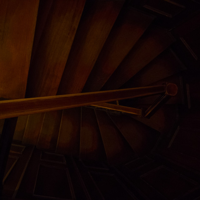 """""""Wooden Staircase"""" stock image"""