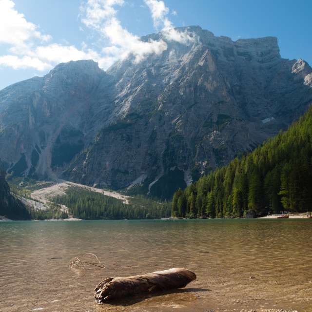 """Pragser Wildsee"" stock image"