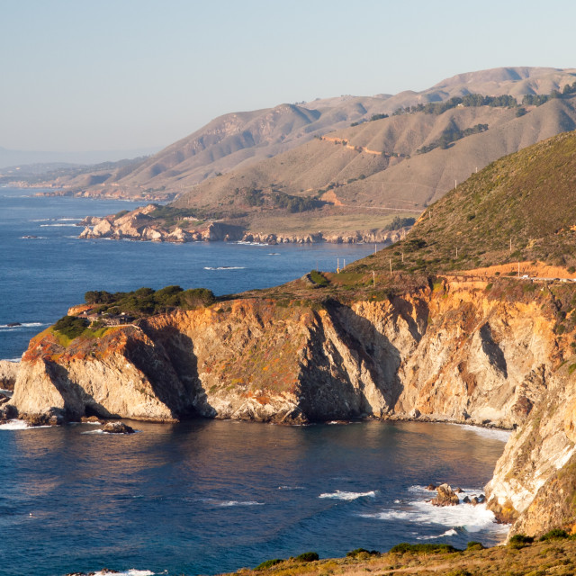 """California Coast"" stock image"