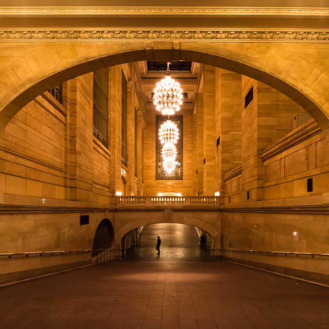 """Grand Central Station Hall"" stock image"