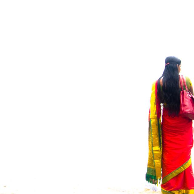 """Mahatma Gandi Beach"" stock image"