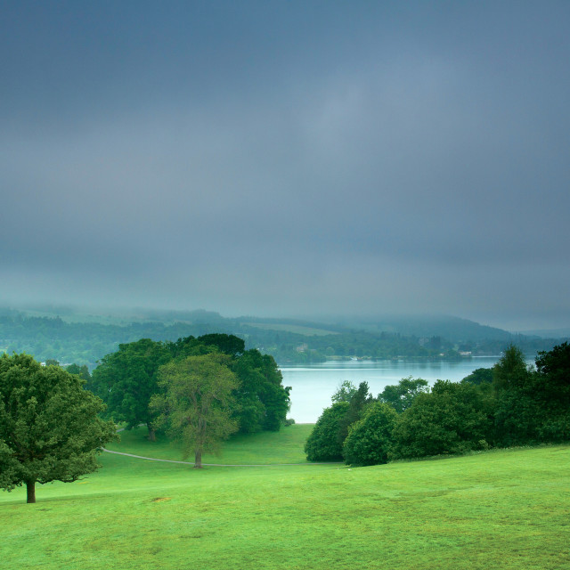 """""""Balloch Castle Country Park"""" stock image"""