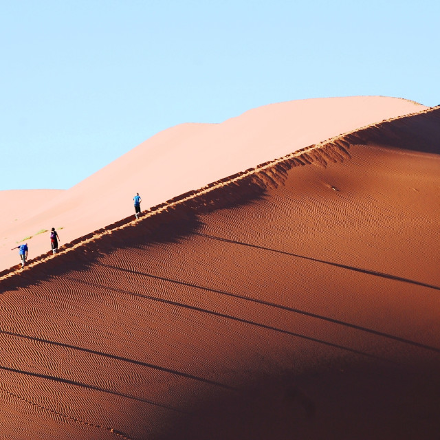 """Namibian Dessert under Morning Sun"" stock image"