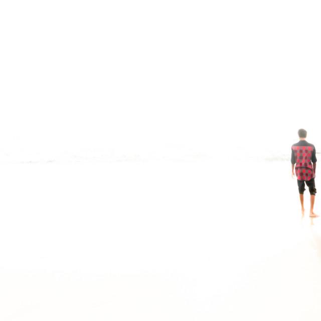 """""""Mahatma Gandhi Beach"""" stock image"""