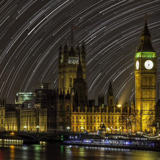 """Big Ben as never seen before"" stock image"