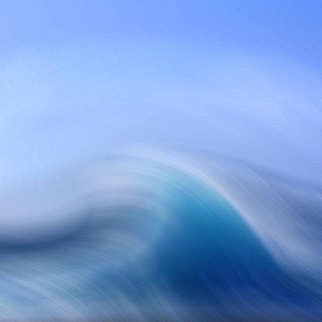 """Surreal Waves 3"" stock image"